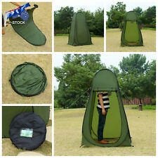 Au-stock Pop up Camping Shower Toilet Tent Outdoor Portable Change Room Shelter