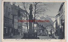 (105860) ak Murnau am Staffelsee, calle del mercado con krottenkopf, 1930er