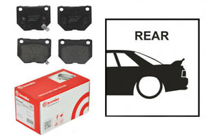 OE Replacement Brembo Rear Brake Pads Fits Nissan Skyline R32 GTST