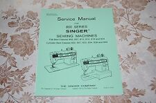 Singer Sewing Machines 822 827 833 834 838 844 Service Manual CD in PDF Format