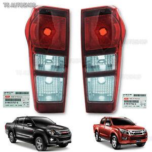 Left Right Rear Tail Lamp Genuine For Isuzu D-Max Holden Hi-Lander 4x2 2012 - 16