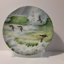 Royal Doulton Waterside Canadian Geese By Elizabeth Gray 8 inch Display Plate