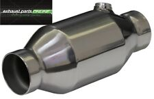 "CATALYTIC CONVERTER 3"", 200 CELL, HIGH FLOW, STAINLESS STEEL ROUND, RACE CAT"