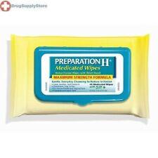 Lenços umedecidos para preparação H medicado * novo fresco Pack Flip Top *