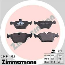 ZIMMERMANN Front Brake Pads 23474.195.1 fits BMW Z4 E86 M