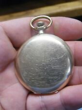 ELGIN 12s FULL HUNTER G.F. 17J POCKET WATCH