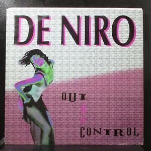 "De Niro - Out Of Control VG+ 12"" 45 Time Records TRD 1309 Italy 1993"