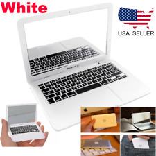 Macbook Air Style Mirror Mini Portable Notebook Creative Make up Mirror White US