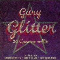 GARY GLITTER - 20 GREATEST HITS  CD 20 TRACKS GLAM-ROCK / POP BEST OF  NEUF