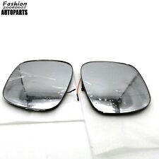 Fit For BMW X1 E84 2008 To 2015 1Pair Left & Right Side Mirror glass Heated