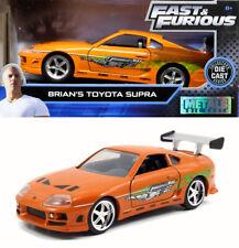 1995 Toyota Supra Brian Fast & Furious Orange 1:32 Jada Toys 97345