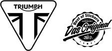 2 x Triumph Logo Viele Farben Größe 8 cm x 7 cm ANSEHEN