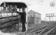 London and North Western Railway Co Electric Signal Box Postcard J50782
