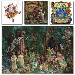 """""""Court of the Faeries: Believer's Etching Edition"""" James Christensen LE Print"""