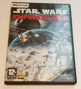 Star Wars Empire At War ~ PC DVD-ROM Game ~ Good Great condition