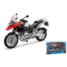 NEW RAY 1:12 MODELLO MONTATO DI MOTO DIE CAST BMW R 1200 GS  ART 42763