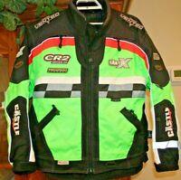 Mens M Castle X Snowmobile Jacket Coat CR2 Vented Hitena Neon Colors Series 3