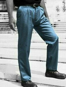 GREY TROUSERS - Dove Grey  drivers golf  British Workwear Reg & Tall fit - TR61