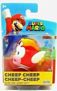 "Super Mario CHEEP CHEEP Jakks 2.5"" Figure Nintendo"