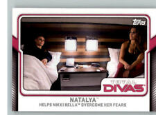 2017 Topps WWE Total Divas #10 Natalya