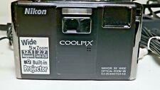 Nikon COOLPIX S1000pj 12.1 MP Digital Camera Projector Complete Excellent Cond