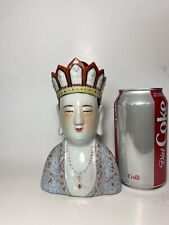 Antique Chinese Famille Rose Buddha Figure