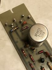 Vintage Sparta console microphone preamp 1018 amplifier w/input transformer