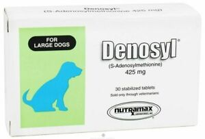 Denosyl Medium to Large Dogs 35 to 120Lbs Brain and Liver Support 425mg 30 Tabs