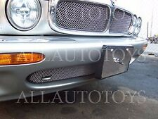Jaguar XJ6 XJR Upper Insert & Bumper Mesh Grille Set 95-97 chrome or black X300