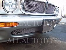 Jaguar XJ8 XJR Upper & Lower Bumper Mesh Grille kit 98-03 chrome or black X308
