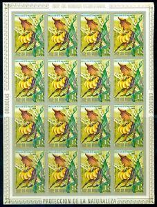 EQUATORIAL GUINEA*1974* compl.set 7 F/Sheets IMP.*MNH**Orchids -Mi.No 428-434KB