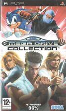 SEGA Mega Drive Colección Sony PSP 12+ Juego Retro de compilación
