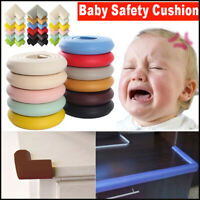 Baby Safety Table Desk Cushion Edge Corner Guard Strip Softener Bumper Protector