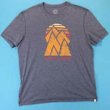 LIFE IS GOOD T Shirt ~ Men XL ~ Retro Vintage Sunset Mountain Logo Tee