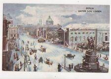 Berlin Unter Den Linden [Tuck Oilette 162B] 1905 Postcard Germany 072b