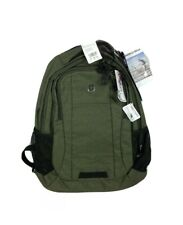 "Swiss Gear 18"" Laptop Safe Backpack Olive Green, Laptop and Tablet Sleeves. New!"