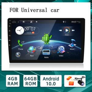 10.1'' Android 10 Universal Car Radio GPS Head Unit HDMI Octa Core 4GB+64GB DSP
