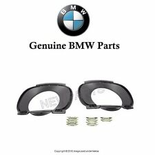For BMW E70 X5 2007-2010 Rear Exhaust Tip Trim Kit for Bumper Cover Genuine