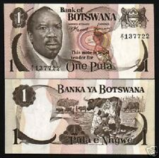 BOTSWANA 1 PULA P1 1976 *REPLACEMENT* Z/1 COW UNC FIRST NOTE RARE CURRENCY NOTE