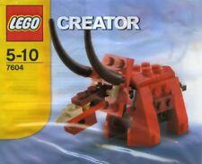 LEGO Creator 7604 Triceratops - Rare Brand New Unopened Polybag Kit
