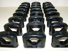 10 Alte Kabelklemmen Size XL Bakelit für Schalter Steckdose Kabelschelle