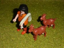 Playmobil BELEN, FIGURAS,ACCESORIOS, Pastor, aldeano, figura belén, cabras