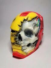 Iron Man Skull, 3D Printed, Painted