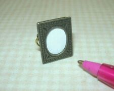 """Miniature Metal Standing Table Frame #1 (1/2"""" x 11/16""""): DOLLHOUSE 1:12"""