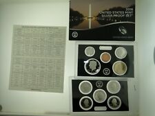 2018 U.S. SILVER PROOF SET - 10 COINS