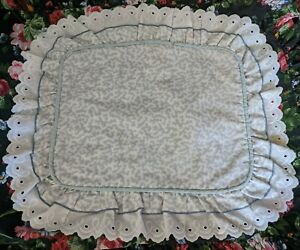 Waverly Belle Rive Pillow Cover Vintage USA Made  Boo-boo