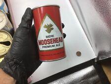 vintage beer can: Moosehead Premium Ale canada - Steel wide seam - pull tab