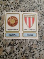 REGGINA RENDE N. 506 album CALCIATORI PANINI 1981 1982 NUOVA CON VELINA BUSTINA