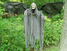 Brand New Animated Flying Reaper Halloween Prop