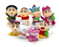 Crayon Shinchan Toy Figure Toys Christmas Hot Gift Kid Birthday Present 8pcs/set
